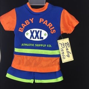 Baby Paris Matching Sets New 2 Pc Infant Basketball Outfit Poshmark